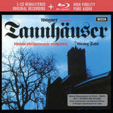 Georg Solti, Vienna Philharmonic Orchestra / Wagner: Tannhauser (Paris Version)(3CD+Blu-ray)
