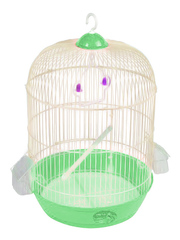 N1 клетка для птиц 33*53 круглая зеленая