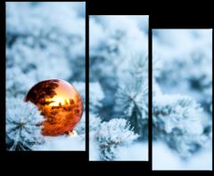 """Модульная картина """"Новогоднее настроение"""""""