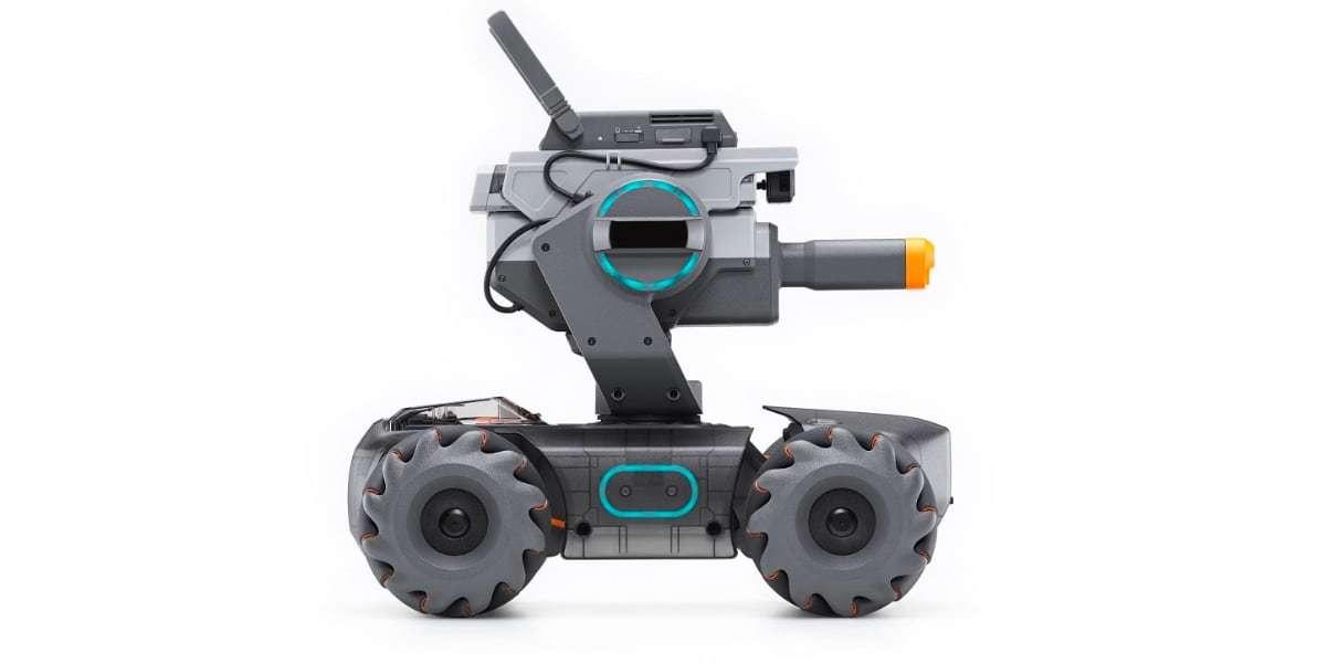 Робот DJI RoboMaster S1 вид с