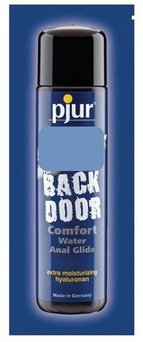 Концентрированный анальный лубрикант pjur BACK DOOR Comfort Water Anal Glide - 2 мл.