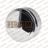 Заглушка внешняя d115мм (430/0,5 мм) нижняя Ferrum