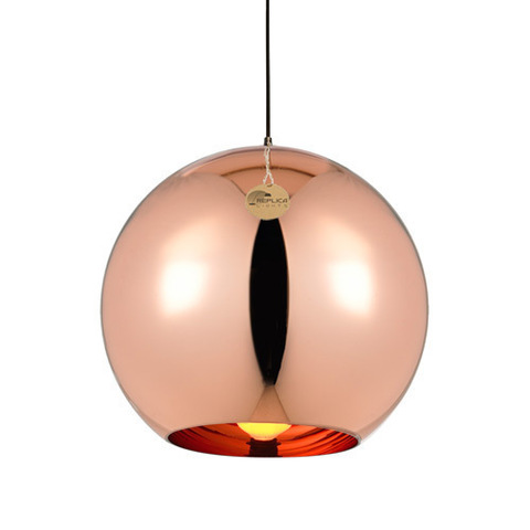 replica Copper Shade GOLD  pendant lamp ( 35 сm )