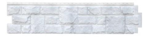 Фасадная панель Гранд Лайн Я-ФАСАД Камень Серебро 1407х327 мм