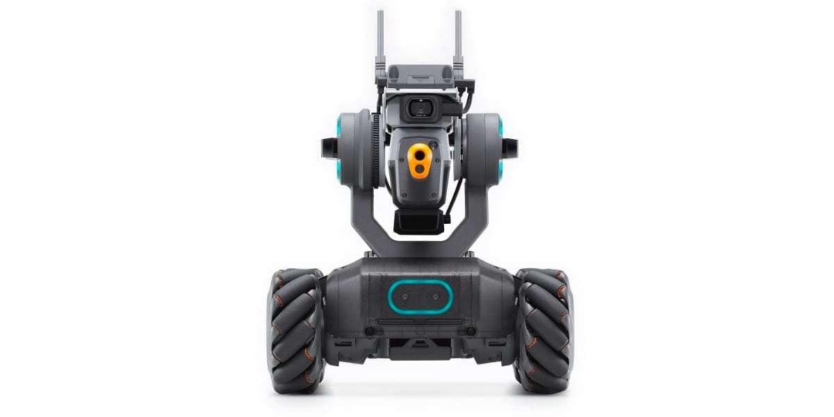 Робот DJI RoboMaster S1 вид спереди