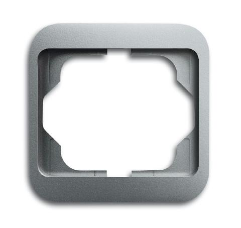 Рамка на 1 пост. Цвет Титан. ABB(АББ). Alpha Nea(Альфа Ние). 1754-0-4391
