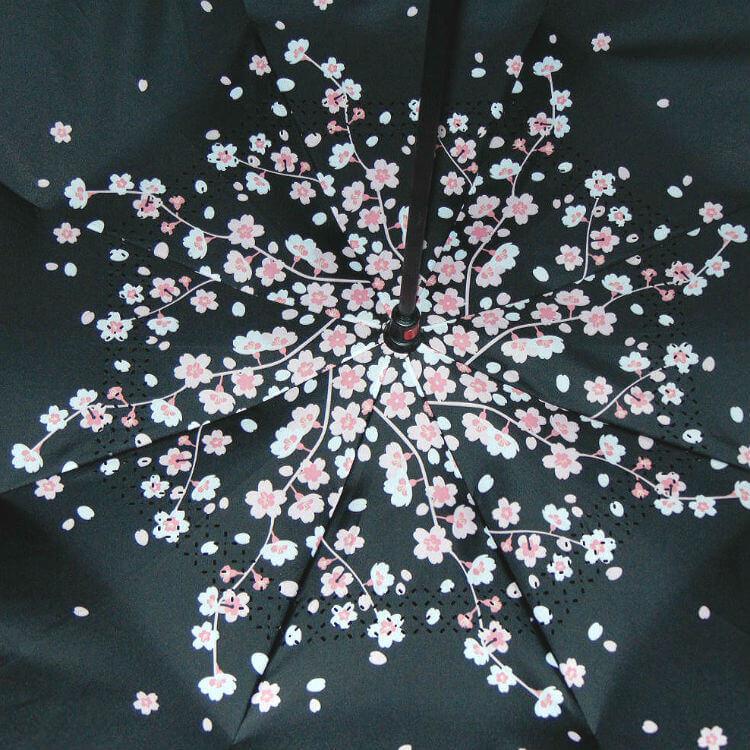 Обратный зонт ReU Sakura (арт.RU-11)