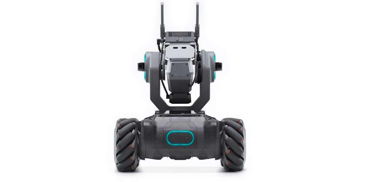 Робот DJI RoboMaster S1 вид сзади