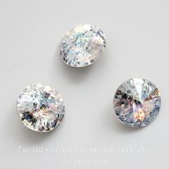 1122 Rivoli Ювелирные стразы Сваровски Crystal White Patina (12 мм)