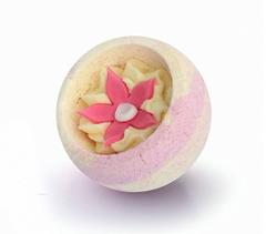 Десерт-шарик для ванн комбинированный ОРХИДЕЯ И ВАНИЛЬ, серия