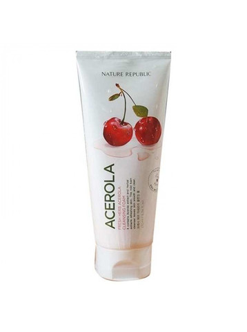 Пенка Fresh Herb Acerola Cleansing Foam от Nature Republic