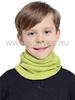 Детский баф с шерстью мериноса Norveg Монстр 7WBU-005 салатовый - Интернет-магазин