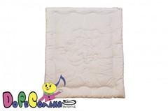 Одеяло детское 110х140  Озорной Щенок в сатине всесезонное.
