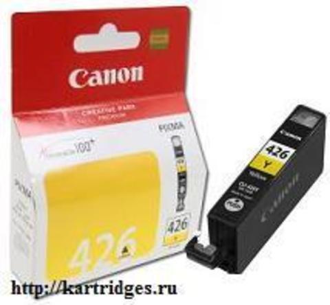 Картридж Canon CLI-426Y / 4559B001