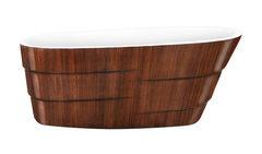 Акриловая ванна Lagard AUGUSTE Brown Wood 170х75 см