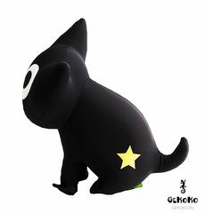 Подушка-игрушка антистресс «Котенок Лаки со звездой» 2