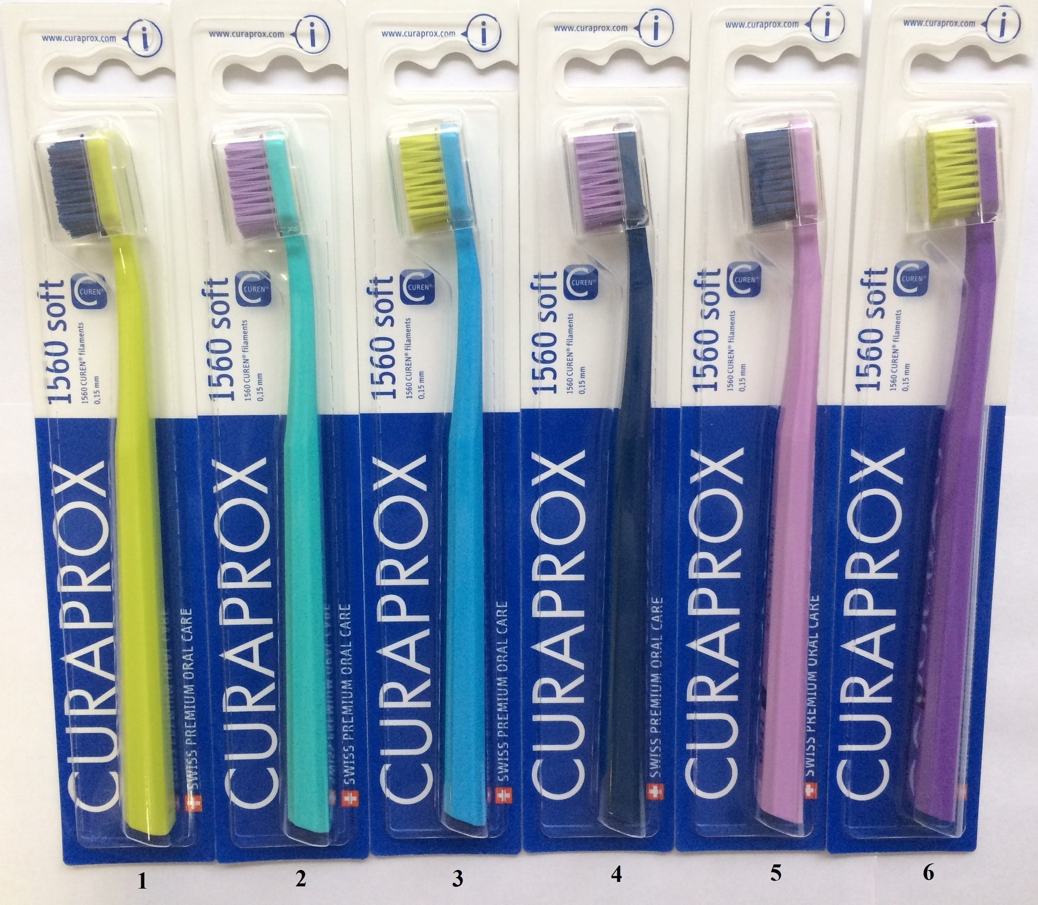 Зубная щетка мягкая / CURAPROX CS 1560