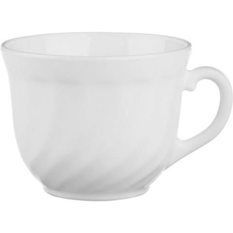 Чашка для чая ТРИАНОН белая 250мл D6922