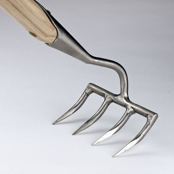 Грабли садовые 4 зубцовые Sneeboer, нержавеющая сталь