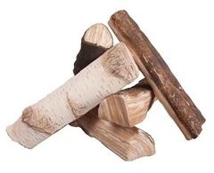 Декоративные дрова для биокамина Микс (набор 5 шт.)