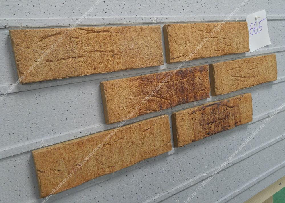 Feldhaus Klinker - R665NF14, Sintra Sabioso Binaro, 240x14x71 - Клинкерная плитка для фасада и внутренней отделки