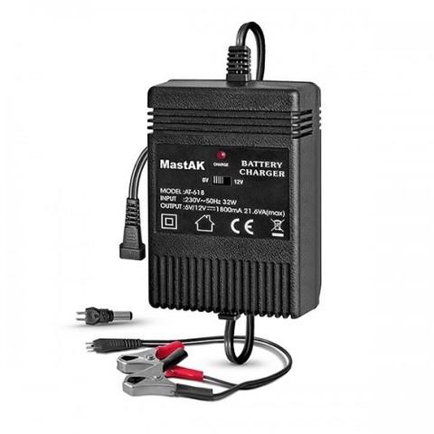 ЗУ MastAK MW-618 для свинцово-кисплотных акк. 6V/12V 1800mA полуавтомат