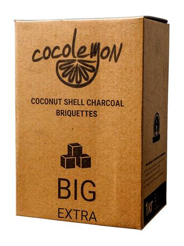 Уголь кокосовый «Cocolemon», 25 мм (72 шт., 1 кг.)