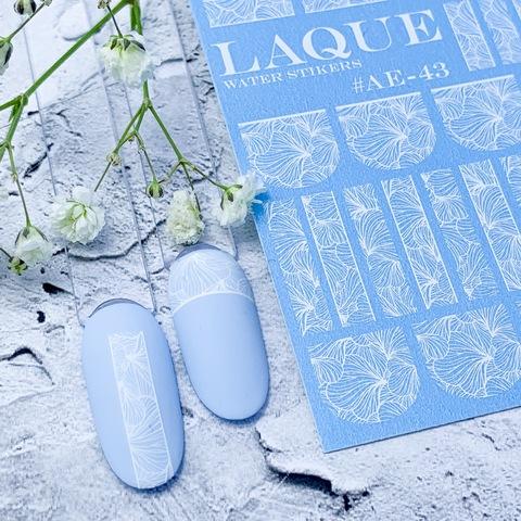 LAQUE Слайдер дизайн #АЕ-43 белый