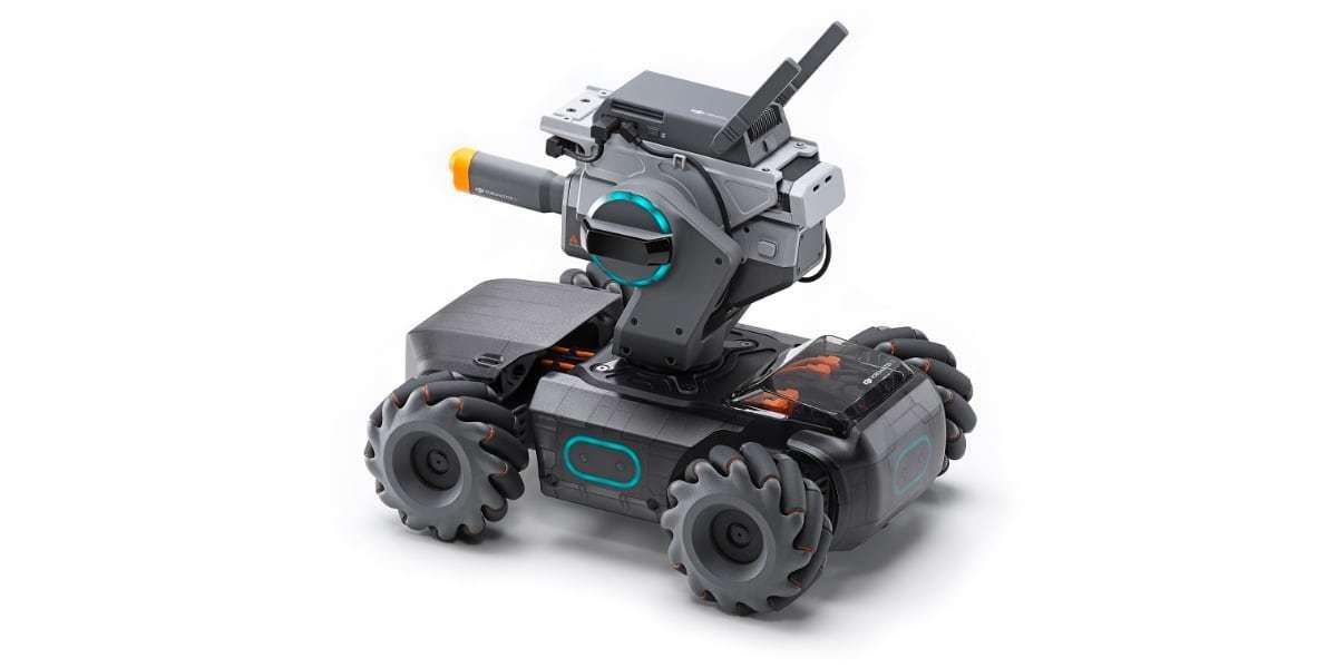 Робот DJI RoboMaster S1 вид сверху