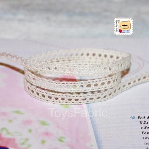 Кружево вязаное СК05-Н (небеленое) 90см