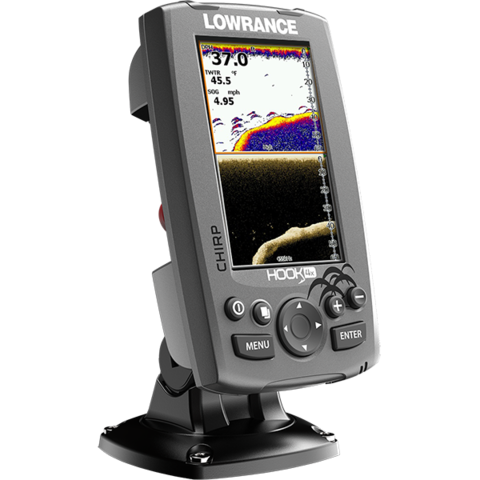 Lowrance Hook 4X Mid/High/DownScan
