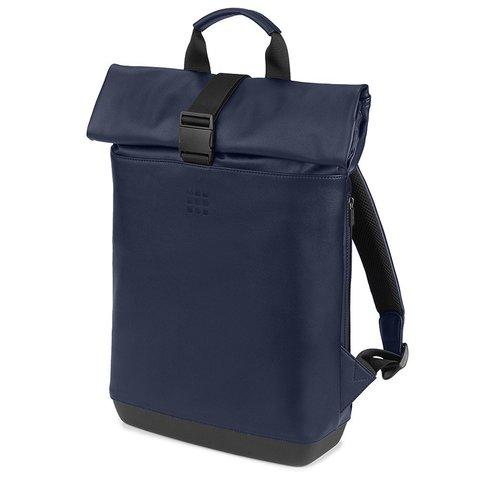 Рюкзак Moleskine CLASSIC ROLLTOP, blue, фото 2