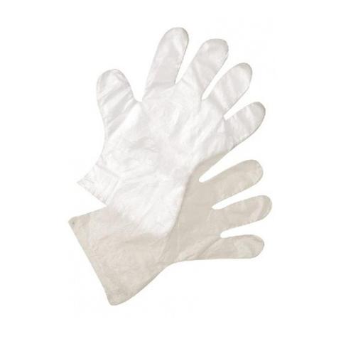 Перчатки полиэтиленовые 50 пар (100 штук) (размер L)