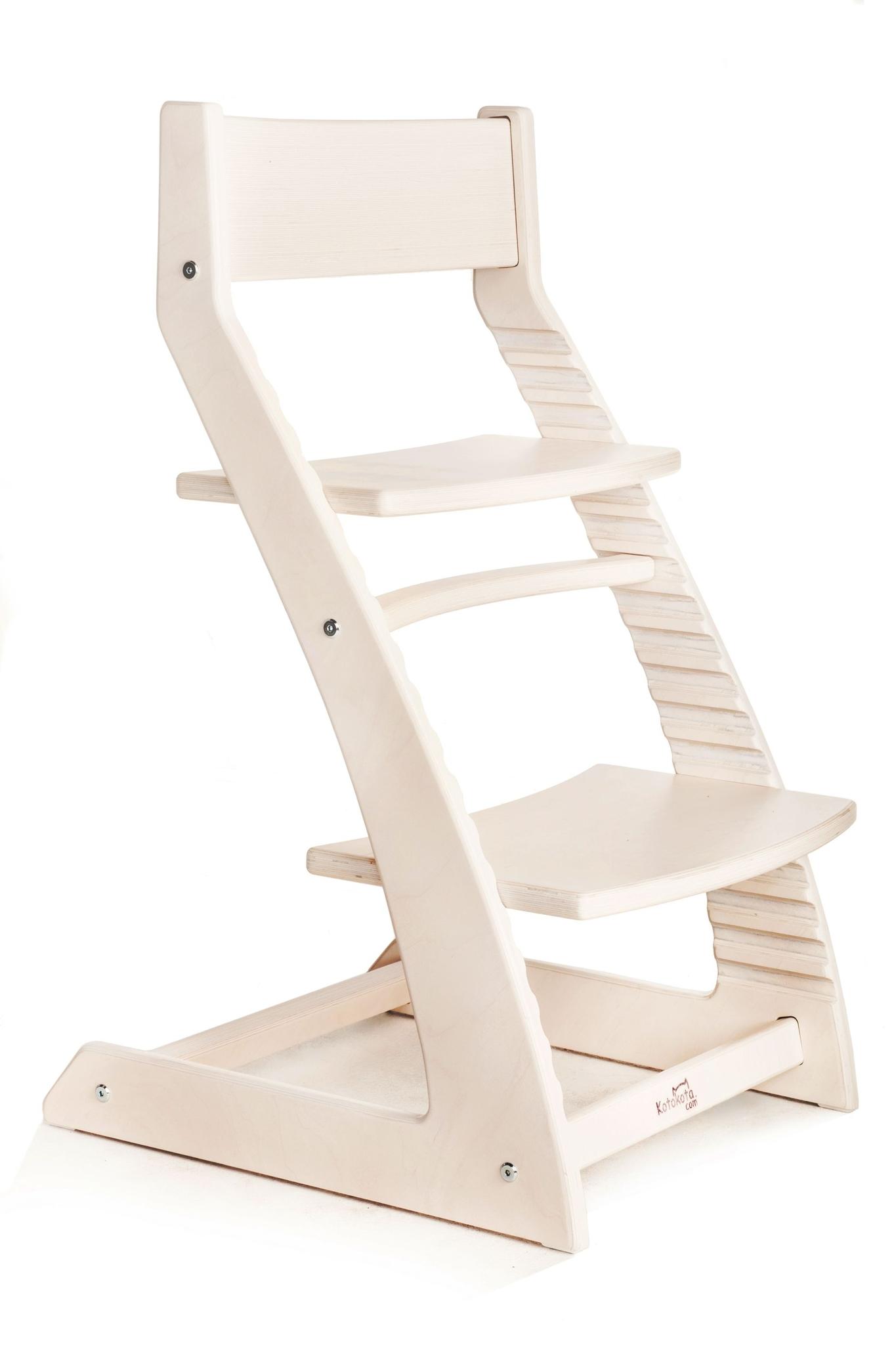 Растущий стул Котокота (Kotokota) Белый