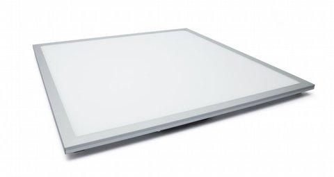 Ультратонкая светодиодная панель серии СВО 295х295, 15 Вт, 6000 К, хром, TDM