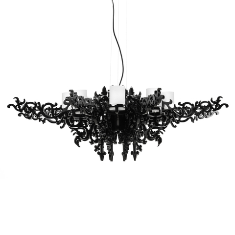 replica  Mansion chandelier lamp ( black )