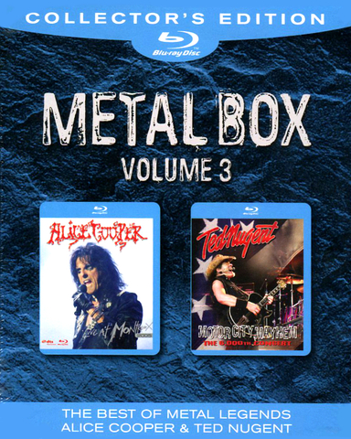 Alice Cooper, Ted Nugent / Metal Box, Volume 3 (2Blu-ray)