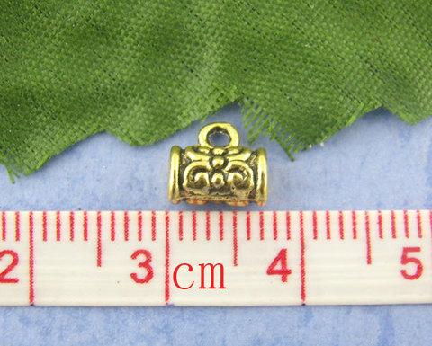 Бейл 7х4 мм (цвет - античное золото) (B00997B)