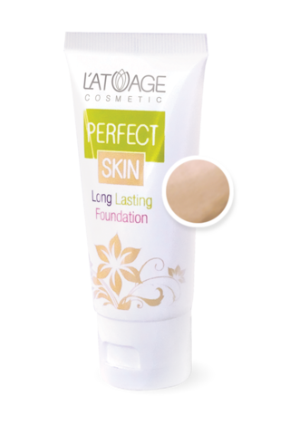 L'atuage Perfect skin Тональный крем тон №103