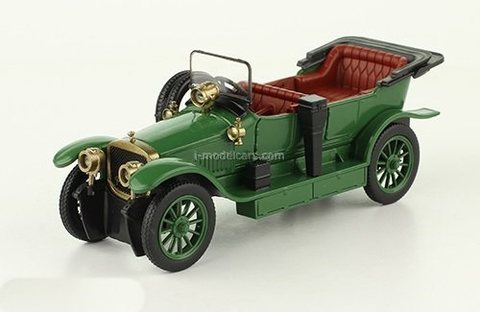 Russo-Balt type C24/40 green 1:43 DeAgostini Auto Legends USSR #254