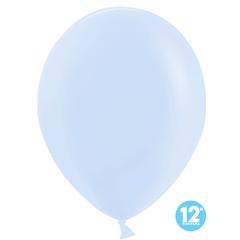 Шар (12''/30 см) Макарунс, Светло-голубой, пастель, 100 шт.