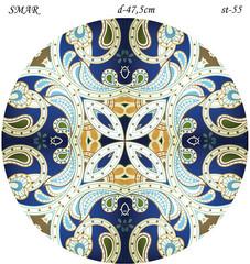 Эскиз для росписи, Круг диаметр-47,5см, SMAR-st-55
