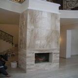 Облицовка камина натуральный мрамор Дайна Реале Арт 110
