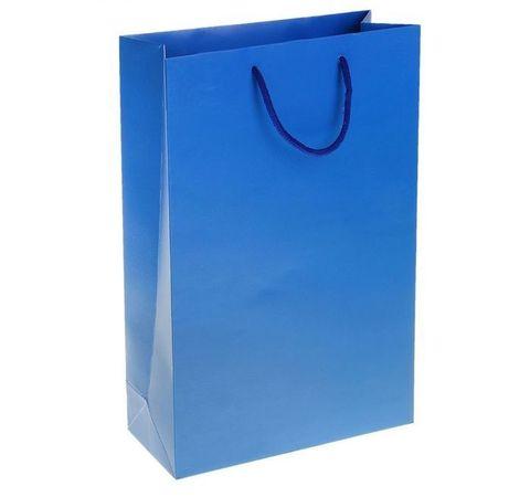 6718 Пакет ламинированный 210гр, цвет синий