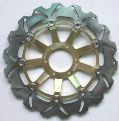 Тормозные диски передние для мотоцикла (2шт.) для Honda CBR600 F4 99-00, VFR800 98-08, XL1000V
