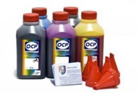 Комплект чернил OCP для картриджей Canon CLI-8/PGI-5 (BKP 44, BK 797, C 133, M/Y 122) 500 gr x 5