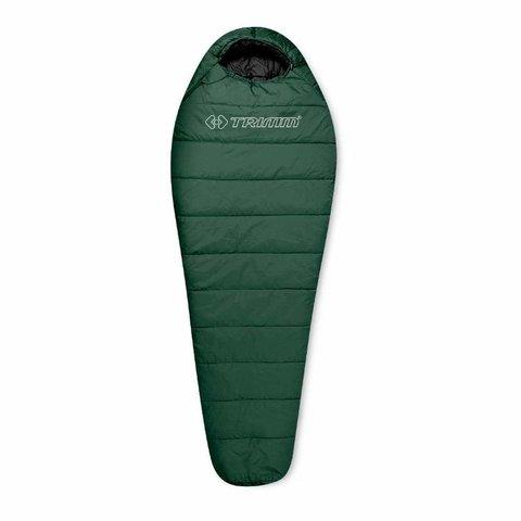 Спальный мешок Trimm Trekking TRAPER, 185 L (зеленый, камуфляж, синий)