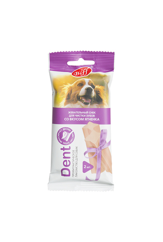 Titbit Жевательный снек DENT со вкусом ягненка (для средних собак)