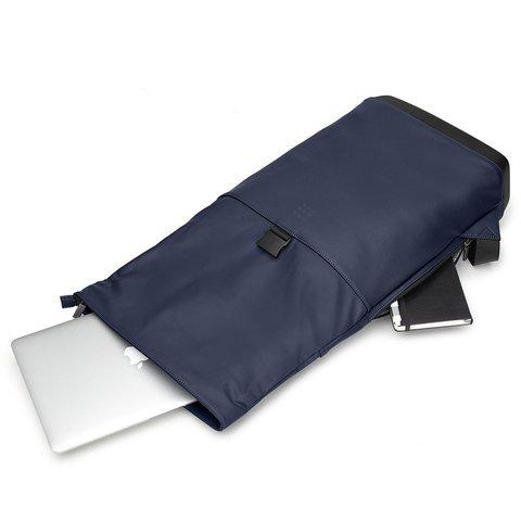 Рюкзак Moleskine CLASSIC ROLLTOP, blue, фото 5