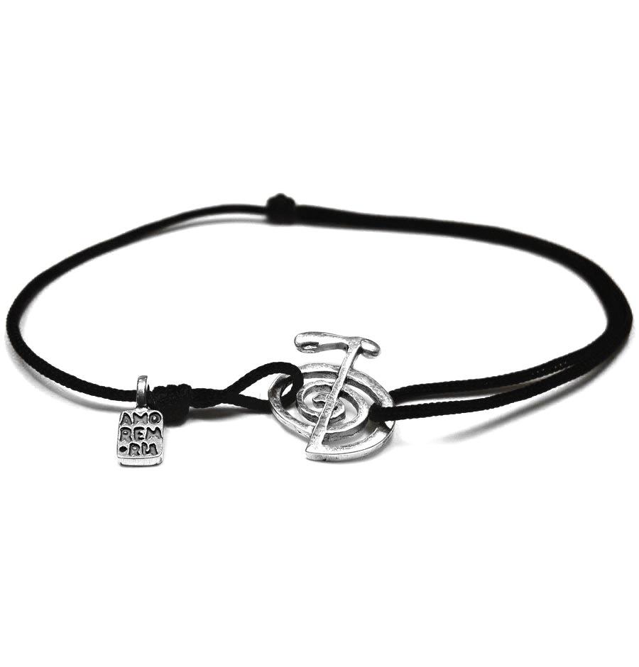 Cho Ku Rei Bracelet, sterling silver
